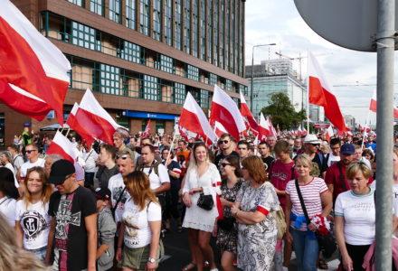 Pamiętamy!!! – Marsz Powstania Warszawskiego – relacja Ryszarda Kozaka