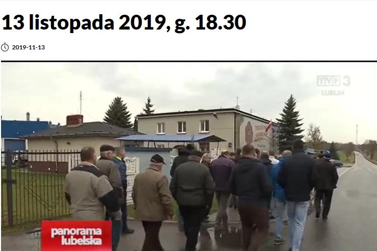 W TVP Lublin o OSM Michów – Chcą odwołania prezesa.