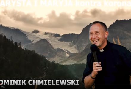 Ks. Dominik Chmielewski na czas epidemii