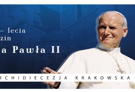 Abramów – Tort na 100 lecie urodzin Jana Pawła II
